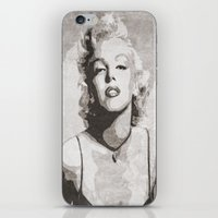 monroe iPhone & iPod Skins featuring Monroe by Jason Michael