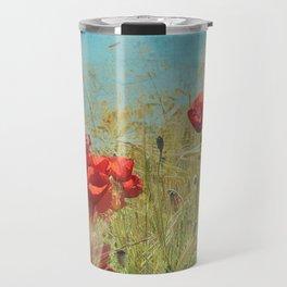 Fantasy poppies Travel Mug