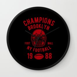 champion brooklyn Wall Clock
