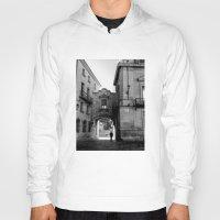 madrid Hoodies featuring Madrid Walkings by PabloEgM