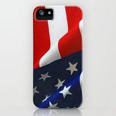 USA Flag Slim Case iPhone (5, 5s)