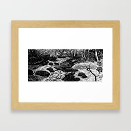 Avery Creek Framed Art Print
