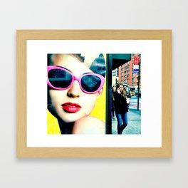Call Me Framed Art Print