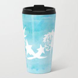 Kingdom Hearts Watercolor Travel Mug