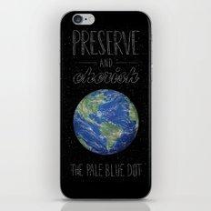 Pale Blue Dot iPhone & iPod Skin