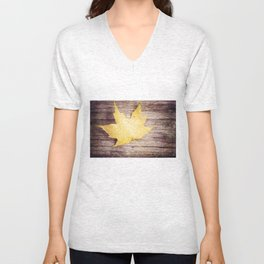 dappled Unisex V-Neck