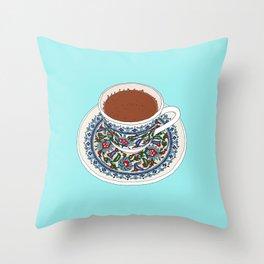 Turkish Coffee Throw Pillow