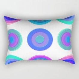 Summer Circles Rectangular Pillow