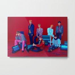 BTS Metal Print