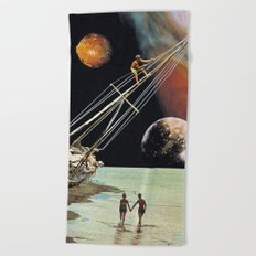 Set Sail for the Stars Beach Towel
