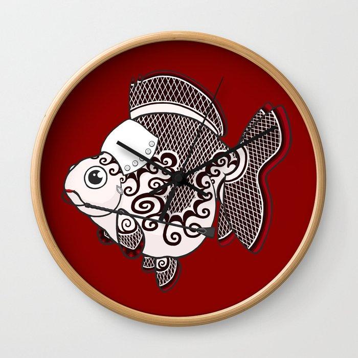 Goldfish Irene Adler Wall Clock