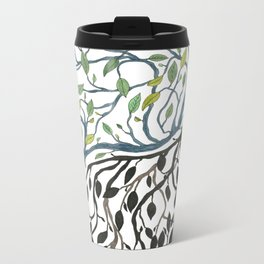 Yin, Yang Metal Travel Mug