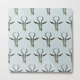 Antelope Pattern Metal Print