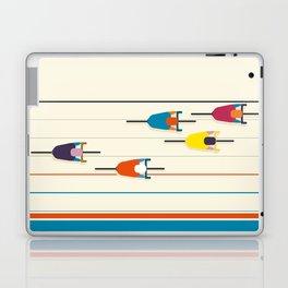 Never stop riding! Laptop & iPad Skin