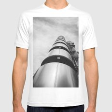 Lloyds building Mens Fitted Tee MEDIUM White