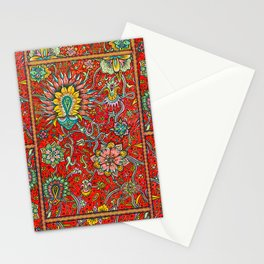 Bursts of India Jacobean - Victorio Road Series Stationery Cards