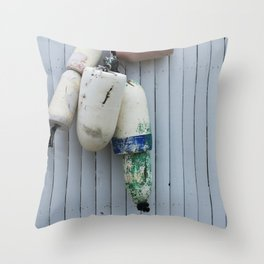 Amagansett Buoys Throw Pillow