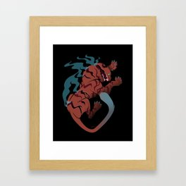 The Tyger Framed Art Print