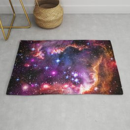 Small Magellanic Cloud's Starry Wingtip Rug