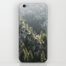 Mountain Lights - Landscape Photography iPhone & iPod Skin