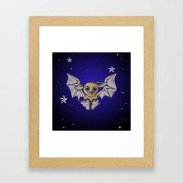 Bubba Bat Framed Art Print