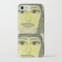 sketch iPhone & iPod Cases featuring sketch by Shelby Claire