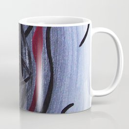 'And From My Soul Comes The Darkness' ~ Pore Space Inkling No 9 Coffee Mug