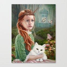 Puss 'n Princess Canvas Print