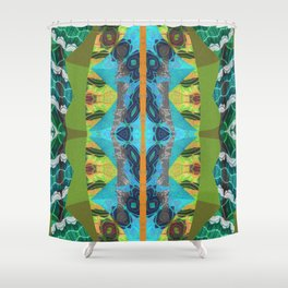 Merge Two or More Worlds Shower Curtain