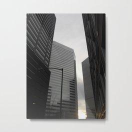 Urban Monotony Metal Print