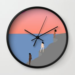 Persephone's Sirens Wall Clock
