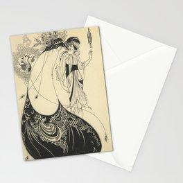 AUBREY BEARDSLEY Salome Oscar Wilde - The Peacock Skirt Stationery Cards