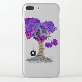 Treehouse I Clear iPhone Case