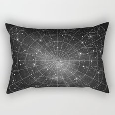 Constellation Star Map (B&W) Rectangular Pillow