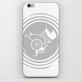 LifeCycle (spiral) iPhone Skin