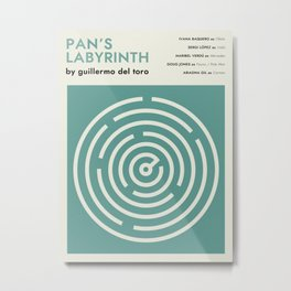 Pan's Labyrinth alternative movie poster Metal Print
