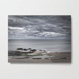 On a Scottish beach Metal Print