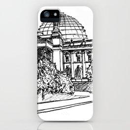 Berlin Reichstag iPhone Case