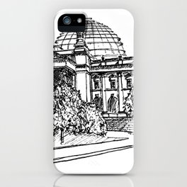 Berlin Reichstag iPhone Case