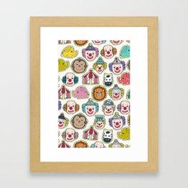 circus cookies multi Framed Art Print