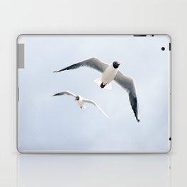 Flying seagulls Laptop & iPad Skin