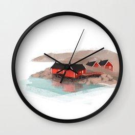 Lofoten Wall Clock