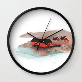 Lofoten Wall Clock