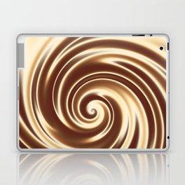 Chocolate milk cocktail spiral Laptop & iPad Skin