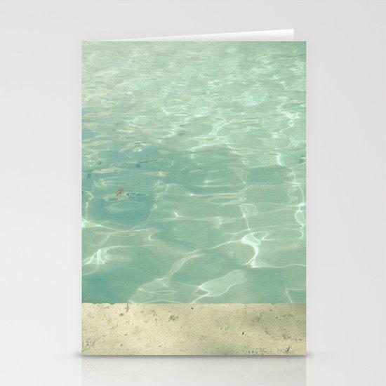 Morning Swim Stationery Cards