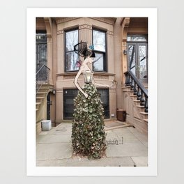 A Tree Grows in Brooklyn Art Print