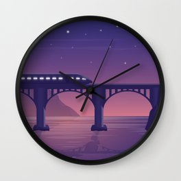 TheTrain Wall Clock