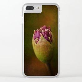 Allium in May Clear iPhone Case