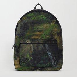 """Gustave Courbet """"Les Gorges des Saillon"""" Backpack"""