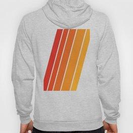 Retro 70s Stripes Hoody